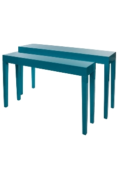 "set of tables ""Jannis"", blue"