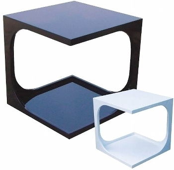 cubic table, modern