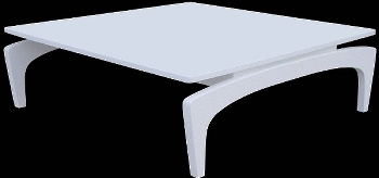 lacquered coffee table modern