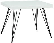 "side table ""Jossy"", white"