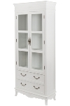 "cupboard ""Elegance"", with glass 2 drawers und"