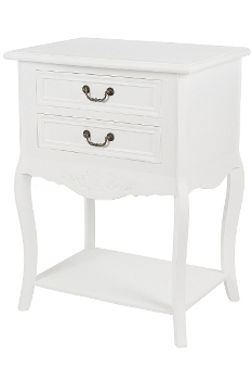 """side table """"Elegance"""", with 2 drawers - FSC"""