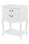 "side table ""Elegance"", with 2 drawers - FSC"