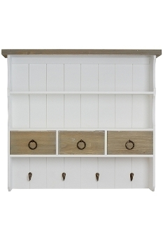 "wallshelf ""Straight"", with 3 drawers"