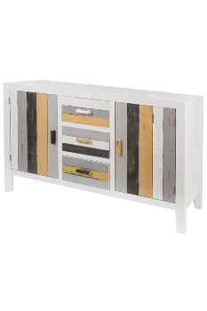 """side board, """"Stripes"""", with 2 doors + 3 drawers"""