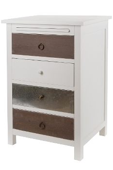 """side board, """"Iron"""", with 4 drawers"""