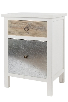 """side board, """"Iron"""", with 2 drawers"""