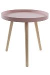 "side table ""Sanne"", pink"