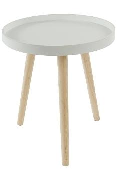 """side table """"Lieke"""", white - FSC 100%"""