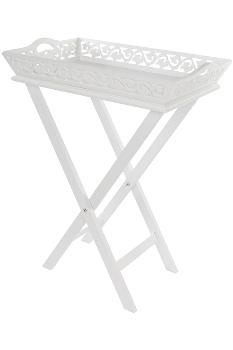 "tray ""Romantic"", with rack"