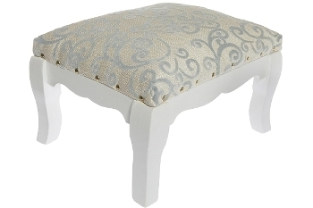 """stool """"Meridian"""" upholstered, with fabric cover"""