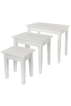 "side table ""Meridian"", set of 3"
