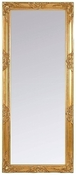 "mirror ""Bozorg V"", golden"