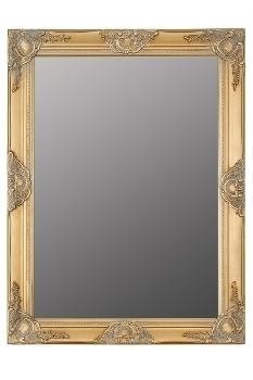 """mirror """"Bozorg II"""", golden"""
