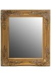 "mirror ""Rangi I"", golden"