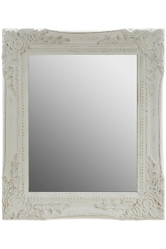 """mirror """"Rangi I"""", white"""