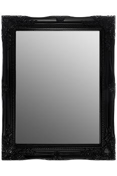 "mirror ""Rangi II"", black"