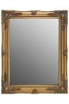 "mirror ""Rangi II"", golden"