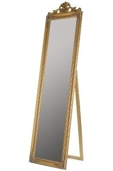 "full-length mirror ""Xarpul"", golden"