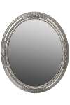 "oval mirror ""Beyzawi I"", silver"