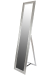"full-length mirror ""Asil IV"", silver"