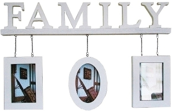 "family photoframe ""Adam"", white"