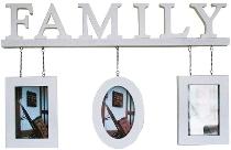 """Family Bilderrahmen """"Adam"""", 3er , weiß"""