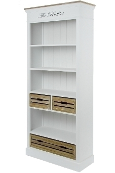 """bookcase """"Provence"""", with drawers"""