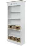 "bookcase ""Provence"", with drawers"