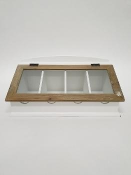 """culery tray """"Provence"""", white"""
