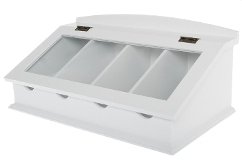 "cutlery tray ""Provence"", white"