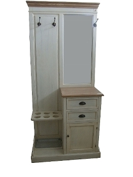 """wardrobe """"Florence"""", with mirror"""