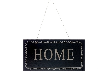 """board with slogans """"Home"""""""