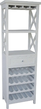 "rack ""Marina"", with bottle shelfs"
