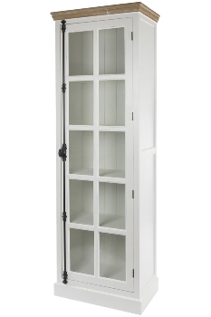 """glass cabinet """"Florence"""", with glass door-FSC"""