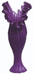 "flower vase ""Carla"", purple"