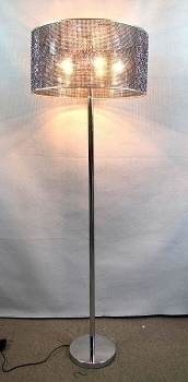 floor lamp black diamonds