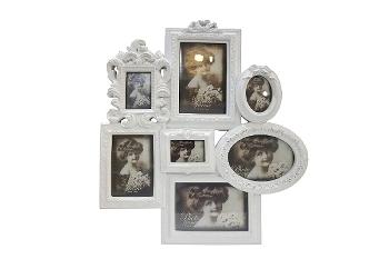 """Family Frame 7 """"Estera"""", white"""