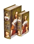 "book box set of 2 ""Mona"""