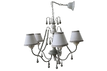 "pendant lamp ""Ella"", with 5 lamps"