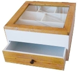 "cutlery tray ""Provence"", with drawer"