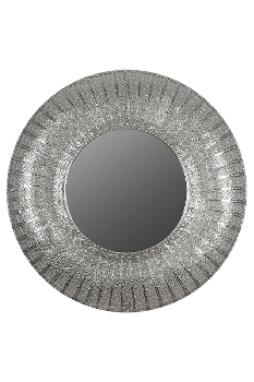 "mirror ""Zala"", with metal frame, round"