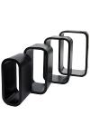 "Cubic ""Tom"", set of 4 matt black"