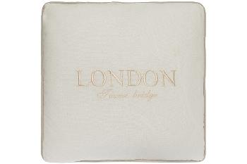 "cushion ""London Tower Bridge"", white"