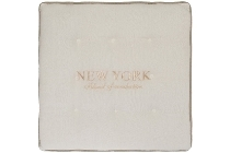 "seat cushion ""New York"", square"