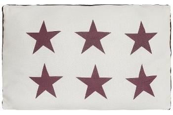 "cushion ""Six Stars"""