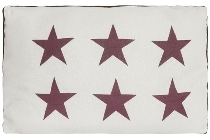 "cushion ""Six Stars"""