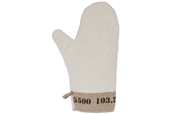 "oven glove ""Numbers"""