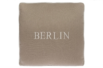 "Berlin cushion ""Berlin"", cream"