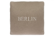 "Berlin cushion ""Berlin"", cream"